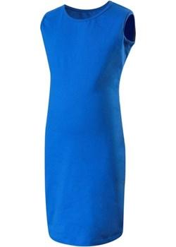 Sukienka ołówkowa bez rękawów - chabrowa Rennwear  rennwear.com - kod rabatowy