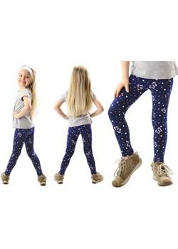 Legginsy dziecięce długie GETRY nadruk MOTYLE  Rennwear rennwear.com - kod rabatowy