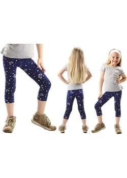 Legginsy dziecięce 3/4 GETRY nadruk MOTYLE Rennwear  rennwear.com - kod rabatowy