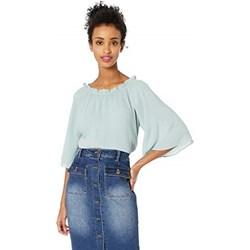 562c405e94 Bluzka damska Vero Moda z okrągłym dekoltem z długim rękawem