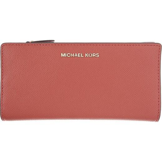 d4b52bab9620f Czerwony portfel damski Michael Kors elegancki w Domodi
