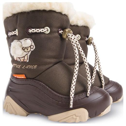f0ff16245f2f0 Buty zimowe dziecięce Demar śniegowce z wełny w Domodi