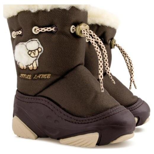 83474aaddb240 Buty zimowe dziecięce Demar na zimę śniegowce w nadruki w Domodi