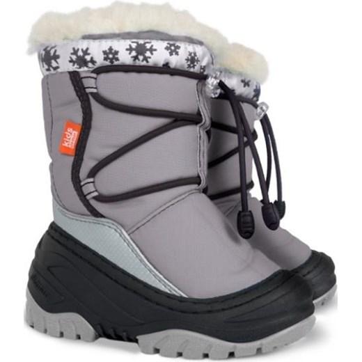 cb05e4892a002 Buty zimowe dziecięce Demar śniegowce sznurowane wełniane w Domodi
