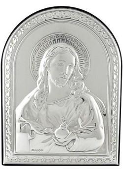 Obrazek srebrny z wizerunkiem Jezusa 7793 na Chrzest Św.  Valenti Bovem - kod rabatowy