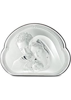Obrazek srebrny Święta Rodzina 8002 na Ślub Valenti  Bovem - kod rabatowy