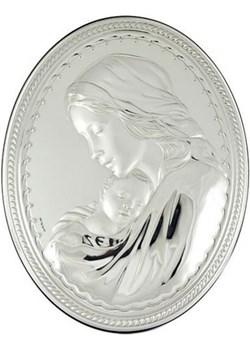 Obrazek srebrny Maryja z Dzieciątkiem Jezus 781 na Chrzest Św. Valenti  Bovem - kod rabatowy