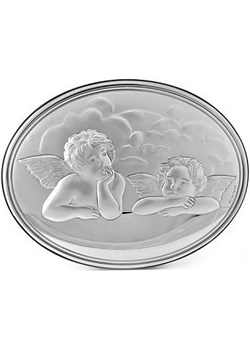 Obrazek srebrny Anioły 7845 na Narodziny Dziecka Valenti  Bovem - kod rabatowy