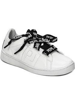 Sneakersy Pepe Jeans PLS30735 800 Białe Pepe Jeans  okazyjna cena midiamo.pl  - kod rabatowy