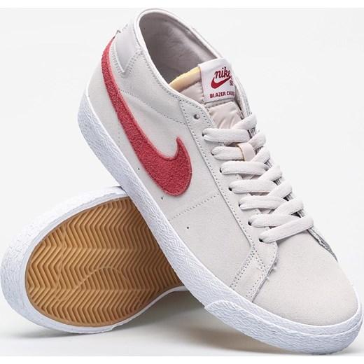 wylot Trampki męskie Nike SB Buty Męskie LK beżowy Trampki