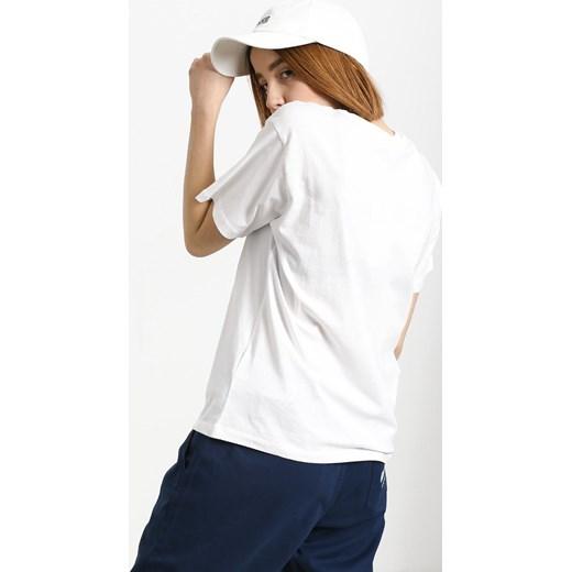 Bluzka sportowa Fila z haftem Odzież Damska GQ biały Bluzki