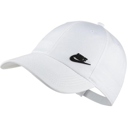 sprzedaż online profesjonalna sprzedaż Nowa kolekcja Czapka z daszkiem męska biała Nike