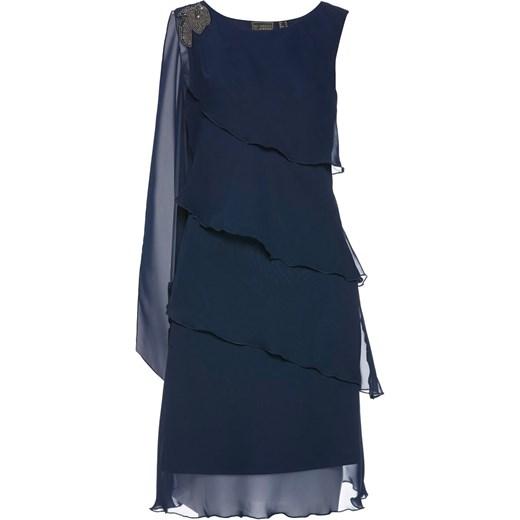 743823d67a Sukienka szyfonowa Bpc Selection Premium bonprix w Domodi