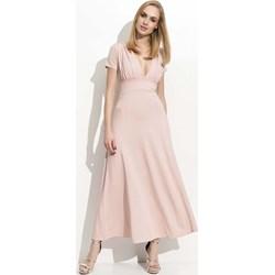 7b36adcddb Makadamia sukienka z krótkimi rękawami
