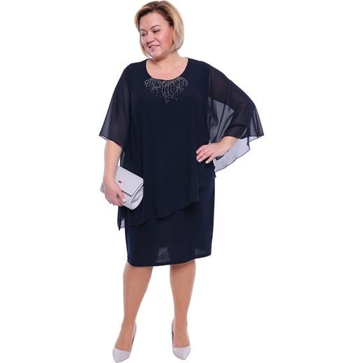739e95f2bc Sukienka dzianinowa dla puszystych do pracy w Domodi