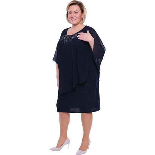 ab64a4b613 Sukienka dzianinowa dla puszystych do pracy  Sukienka elegancka dla  puszystych midi dzianinowa ...