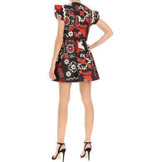 e6855fde48 ... Sukienka wielokolorowa Red Valentino w kwiaty na sylwestra ...