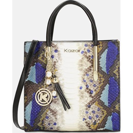 97c3375b83458 Shopper bag Kazar glamour z frędzlami w Domodi