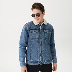 54e92c26b6d18 Kurtka męska House w stylu młodzieżowym jeansowa