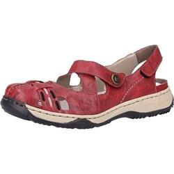2c2a01dac4ae8 Rieker sandały damskie płaskie bez wzorów na platformie skórzane