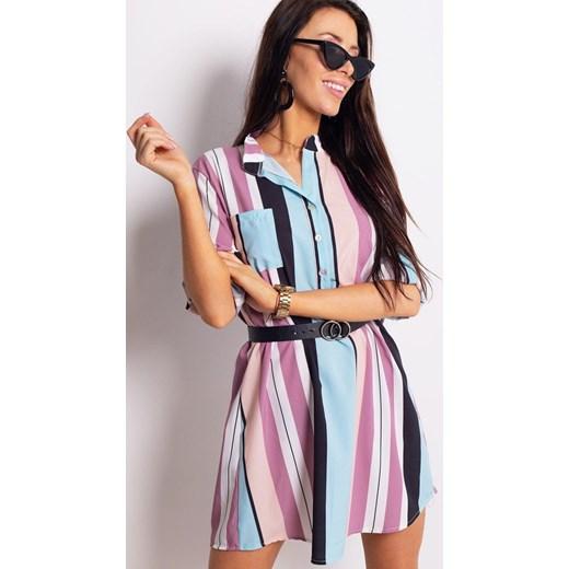 c43343a15d Sukienka Dstreet luźna koszulowa w Domodi