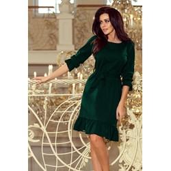 5708923fa1ce Sukienka Numoco midi z okrągłym dekoltem