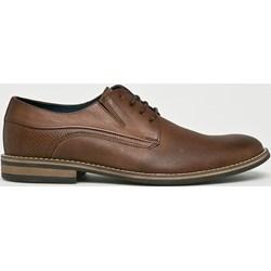 1b392e31b798 Wojas buty eleganckie męskie sznurowane skórzane