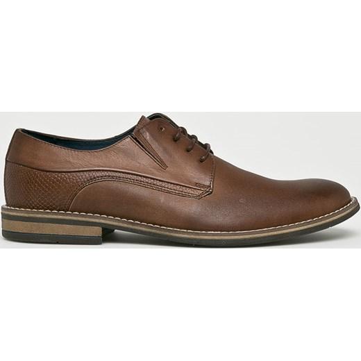 24a5ac6f0f9c0 Wojas buty eleganckie męskie sznurowane skórzane w Domodi