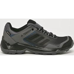 d322d1c20a3fd Buty trekkingowe męskie czarne Adidas Performance sportowe sznurowane