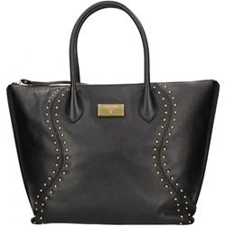 d6ad7d62e074e Shopper bag Guess matowa czarna elegancka duża