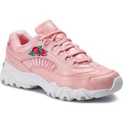 cdd68424 Sneakersy damskie Kappa płaskie bez wzorów z tworzywa sztucznego sznurowane  sportowe ...