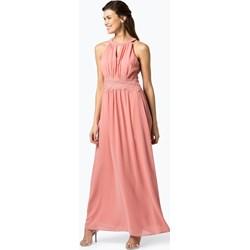 611d336b4ea6 Sukienka różowa Vila prosta balowe bez rękawów maxi