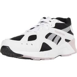 eff30051aef51 Buty sportowe damskie Reebok Classic do biegania młodzieżowe wiązane na  platformie skórzane