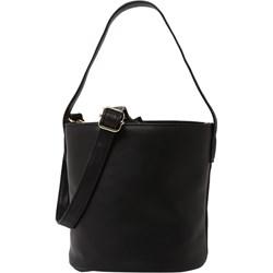 889e4b73107e7 Shopper bag Even Odd na ramię skórzana elegancka bez dodatków matowa