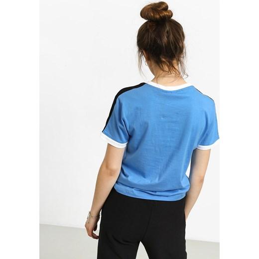 Bluzka sportowa niebieska Fila z haftem na wiosnę Odzież