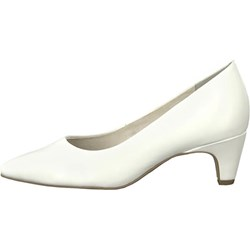 94699983 Białe buty damskie tamaris na obcasie, lato 2019 w Domodi