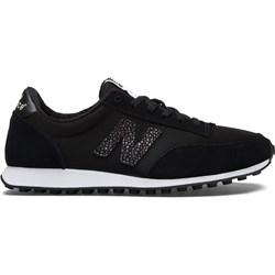 c887a664 Buty sportowe damskie New Balance w stylu casual bez wzorów płaskie wiązane