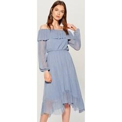 76741c8149 Sukienka Mohito midi z długim rękawem