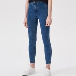 400c3e029cdab8 Granatowe jeansy damskie sinsay, lato 2019 w Domodi