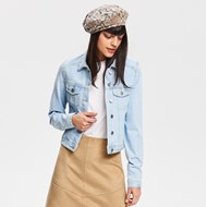 98275ca0f8fb5 Kurtka damska niebieska Reserved jeansowa krótka