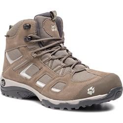 451460b9 Buty trekkingowe damskie Jack Wolfskin sznurowane płaskie bez wzorów