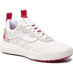 e1581feb3d094 Białe sneakersy damskie Vans jesienne sznurowane skórzane