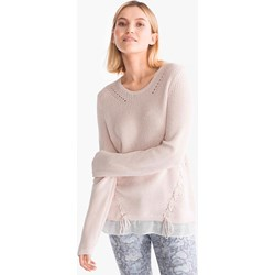 67e84884e4e48d Różowe swetry damskie canda, wiosna 2019 w Domodi