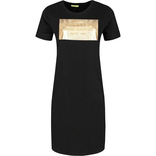 Sukienka casualowa z krótkim rękawem z okrągłym dekoltem w