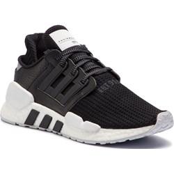Czarne buty męskie sznurówki, jesień 2019 w Domodi