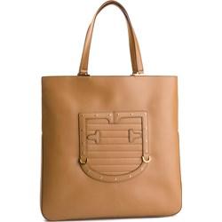 cabe3a8760c4d Shopper bag Furla bez dodatków ze zdobieniami na ramię
