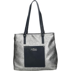 aaba15407cf3a Shopper bag Nobo bez dodatków matowa na ramię