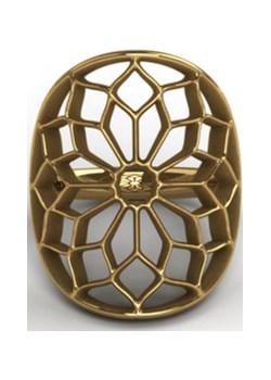 Pierścionek pozłacany Chartres Gold   Kohha - kod rabatowy