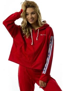 Bluza damska Champion hoody WMNS Reverse Weave Full Zip Top red (111248/F18/RS017)  Champion matshop.pl - kod rabatowy