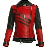 84a9e13d04d8c Z876 Czarna damska kurtka skórzana ze stójką moto biker rozmiar xs ...